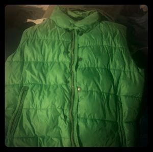 American Eagle Green Vest Mens Large